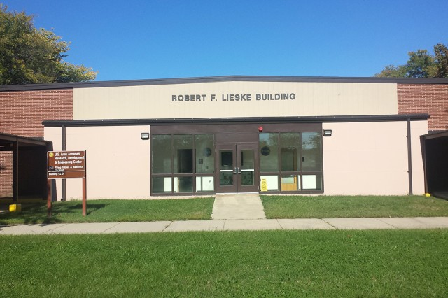 The Robert F. Lieske Building at Aberdeen Proving Ground, Maryland, is home to the U.S. Army RDECOM ARDEC Firing Tables and Ballistics Division.