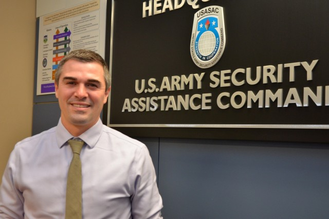 Ryan Nichols, a country program manager with the Security Assistance Command's European Command section, is one of 10 Army employees selected to attend the 2020 Executive Leadership Development Program.