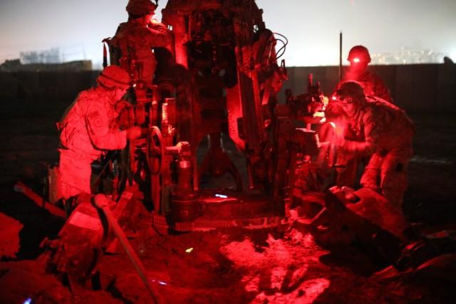 Troopers conduct powerful gun raid against ISIS