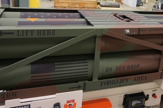 Letterkenny Munitions Center recently produced the 500th LCRRPR pod at LEMC.