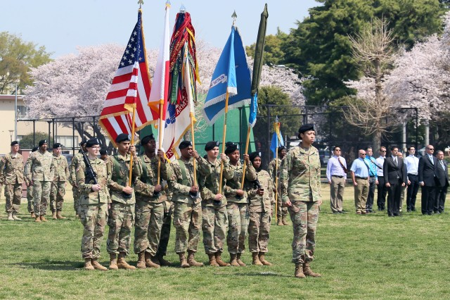 The 441st Military Intelligence (MI) Battalion, 500th Military Intelligence Brigade-Theater (MIB-T), was re-designated as the 311th MI Battalion during a ceremony on Camp Zama, Japan, Mar. 29, 2018.