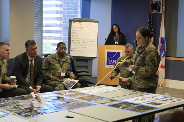 Army plans for future fights in dense urban settings