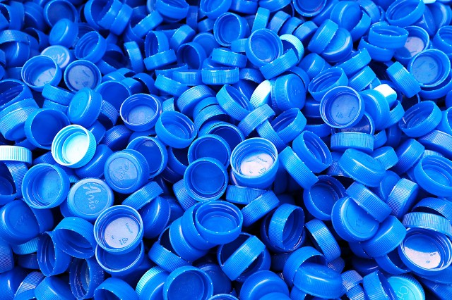 Bagram Airfield, Afghanistan has no shortage of bottle caps. These caps will be sent stateside, recycled, and the proceeds will be used to help needy school children in the Huntsville, Alabama, area, thanks to personnel at Bagram Airfield, Afghanistan. (Photo by Jon Micheal Connor, Army Public Affairs)