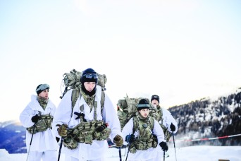 Paratroopers prove prowess in Alpine passage