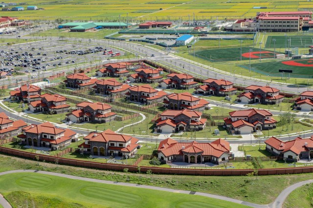 Residents of Family housing owned and leased by the Army in the United States and overseas, such as this Family housing at U. S. Army Garrison Humphreys, South Korea, received a survey via email on Jan. 15 asking them to rate the quality of housing and housing services. The survey runs through Feb. 14.