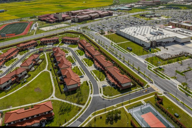 Residents of Family housing owned and leased by the Army in the United States and overseas, such as this Family housing at U. S. Army Garrison Humphreys, South Korea, will receive a survey via email on Jan. 15 asking them to rate the quality of housing and housing services. The survey runs through Feb. 14.