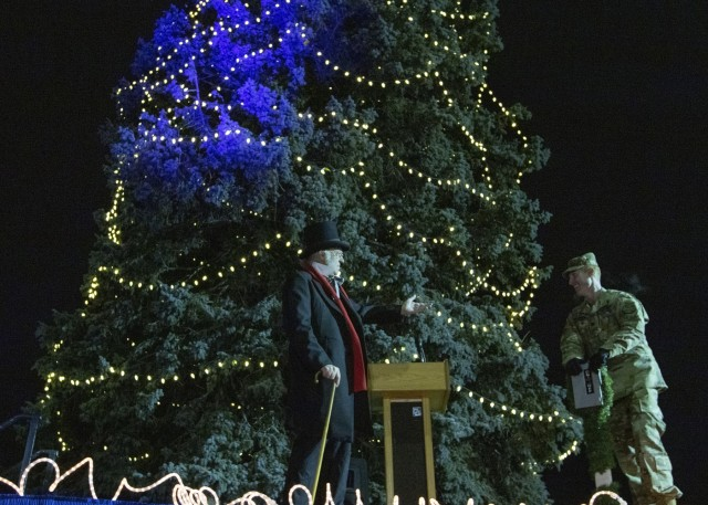 2018 Fort Carson Holiday Tree Lighting Ceremony