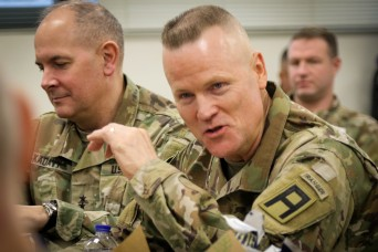 First Army strengthens partnership with National Guard leaders