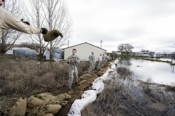 Guard teams up with state resources to prep for flooding