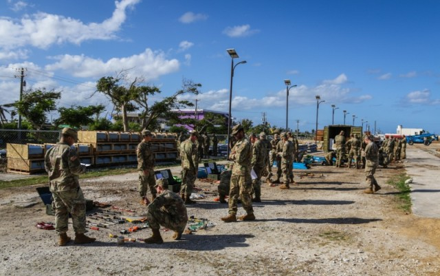 Joint Task Group Engineers arrive on Saipan; continue recovery efforts