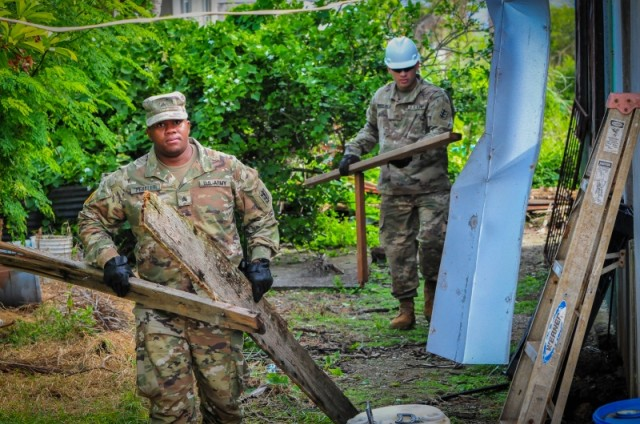 Task Group Engineers arrive on Saipan; continue recovery efforts.