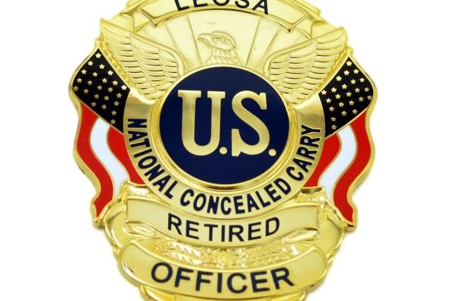 LEOSA Badge.