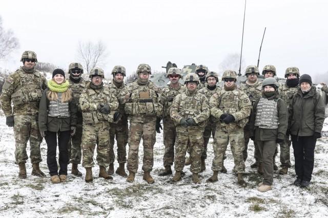 A group photo of JMYG-U mentors in Ukraine, Nov. 22, 2018.