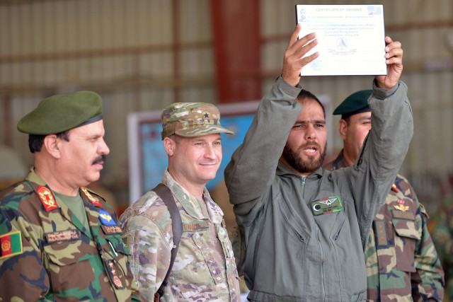 Afghan pilots ready for flight