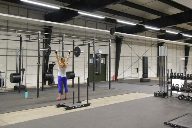 The Functional Fitness Area on Rhine Ordnance Barracks reopened Jan. 10 for all Department of Defense ID cardholders following a move of the equipment from Bldg. 237 to the new location in Bldg. 229.