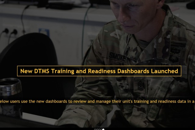 See https://atn.army.mil for the new DTMS Training and Readiness Dashboards.