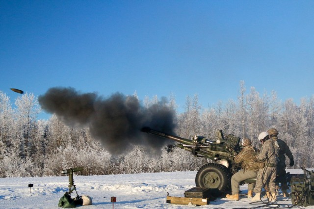 Spartans certify their 105mm howitzers