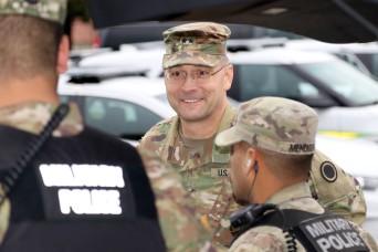 I Corps leader visits 42nd MP Bde