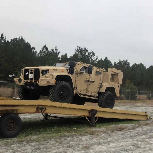 Raider Brigade field first JLTV