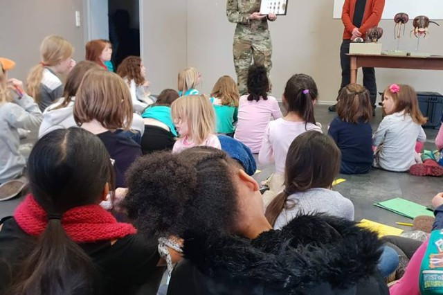 Thirty five Girl Scouts from Landstuhl and Sembach earned their bug patch with the help of Public Health Command Europe.