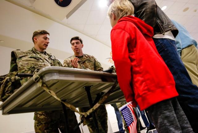 Fort Bragg Soldiers participate in Carolina Hurricanes Military Appreciation Game