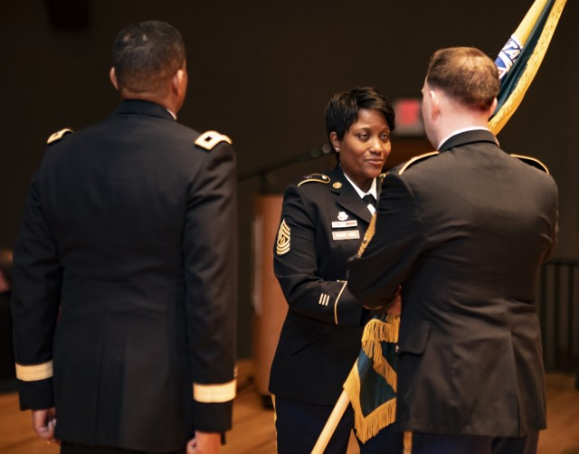 Army welcomes first female CSM at Human Resources Command