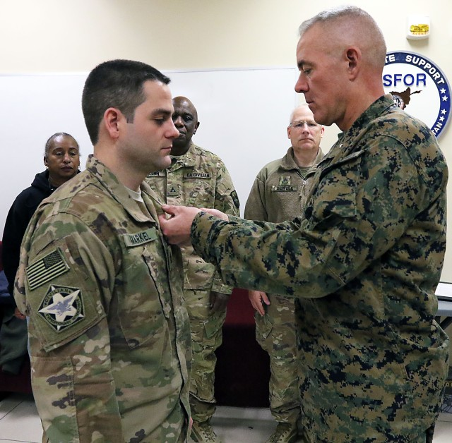 ASG-A employeed honored for service in Afghanistan