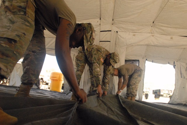 8th TSC focuses on its wartime readiness by training on expeditionary capabilities