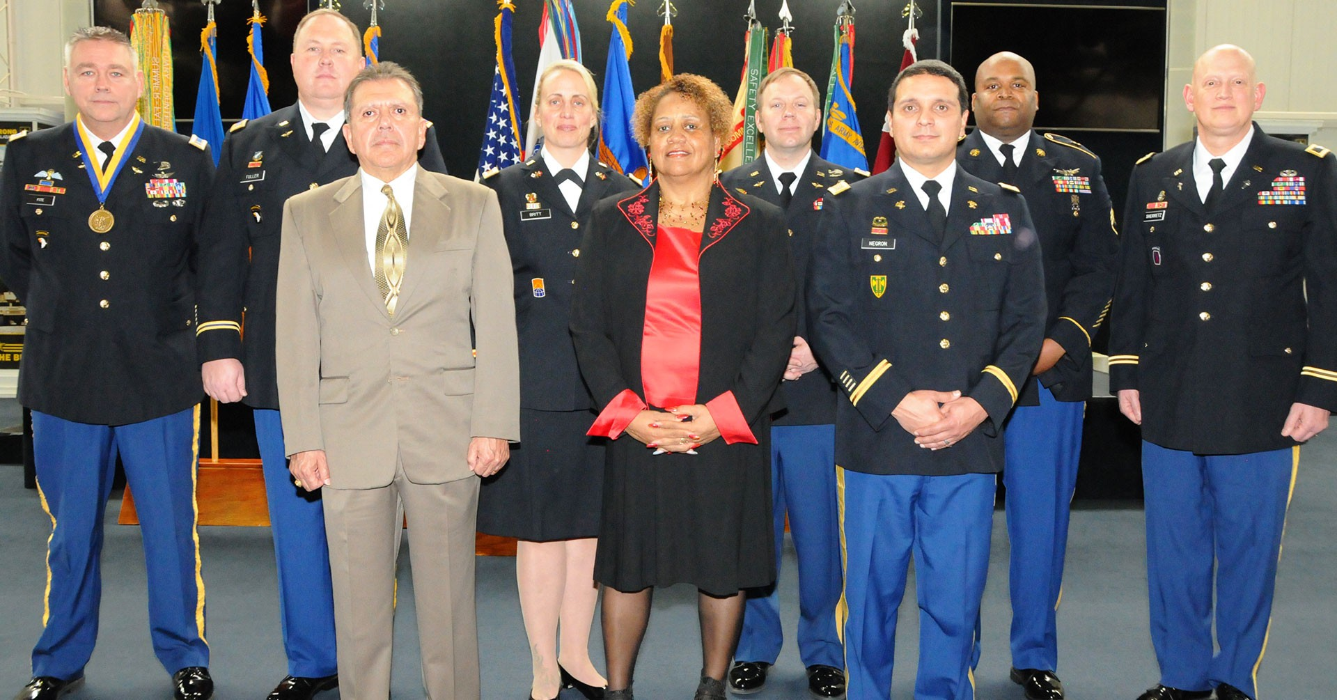 16 Soldiers, 2 civilians retire at quarterly ceremony