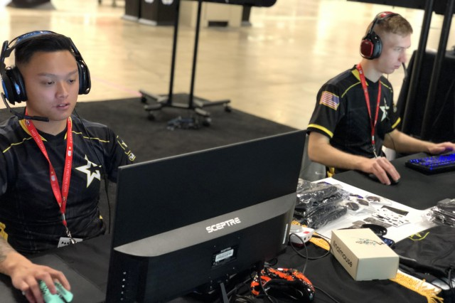 A few Soldiers competed at PAX South in San Antonio as a way to introduce Army esports to the greater gamer community Jan. 18-20, 2019. The esports team is currently searching for members to join the team, which was created to boost recruiting efforts in the gaming community.