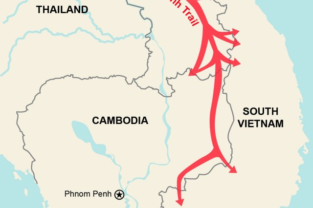 MACV-SOG History | Article | The United States Army on map korea dmz 1967 1968, map of vietnamese demilitarized zone, map of dmz korea,