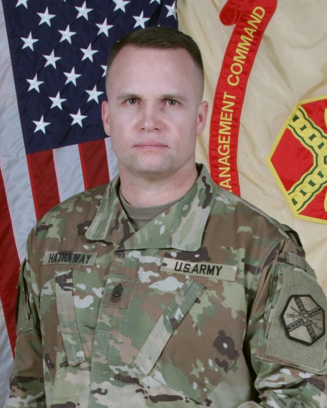 Cmd. Sgt. Maj. Jason M. Hathaway
