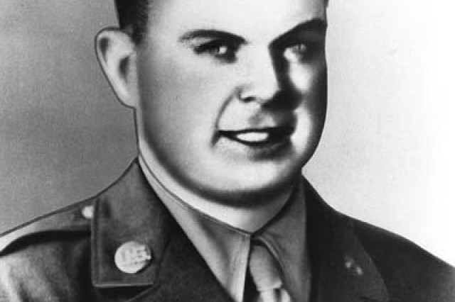 Rendering of Technician Fourth Grade Laverne Parrish, who was posthumously awarded the Medal of Honor for his actions to save fellow Soldiers in World War II.