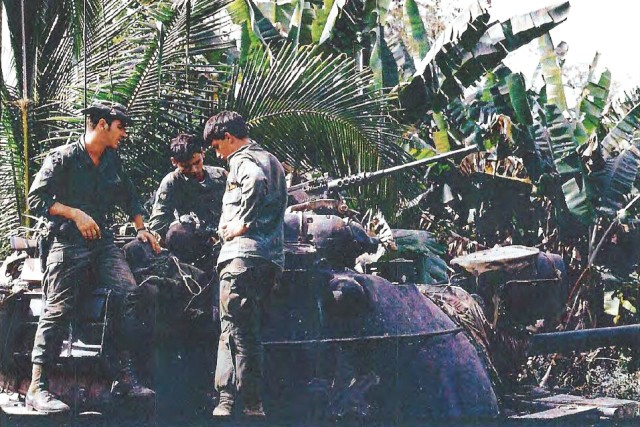 Countering invading forces, Soldiers fought off Tet Offensive attack on key airbase