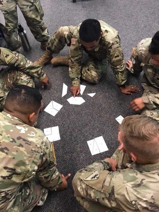 BLC shows soldiers how to work through complex problems