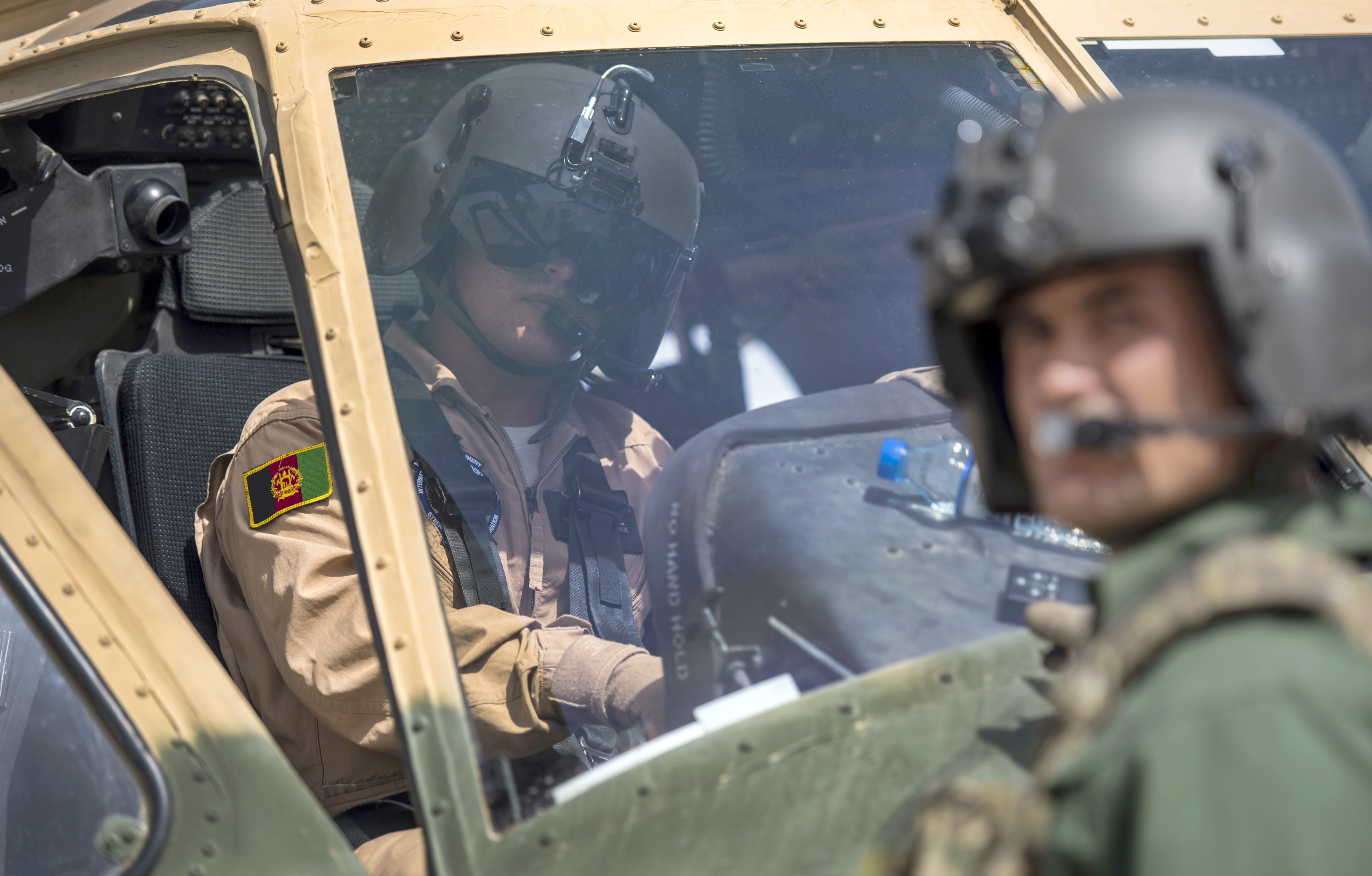 Soldiers see Afghan security forces taking lead with new