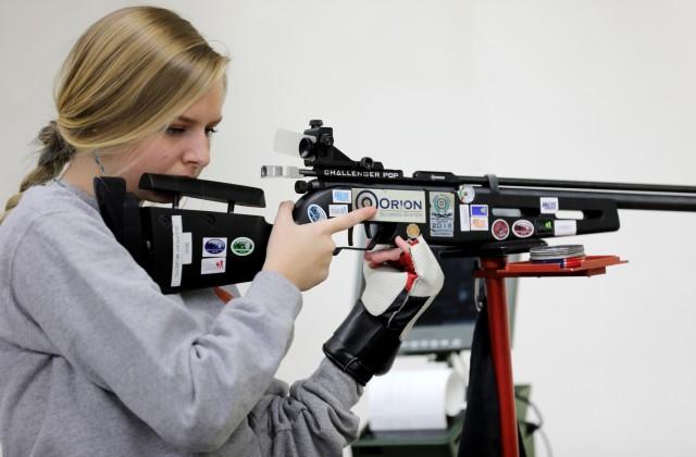 Junior sporter rifle athletes compete at Fort Benning
