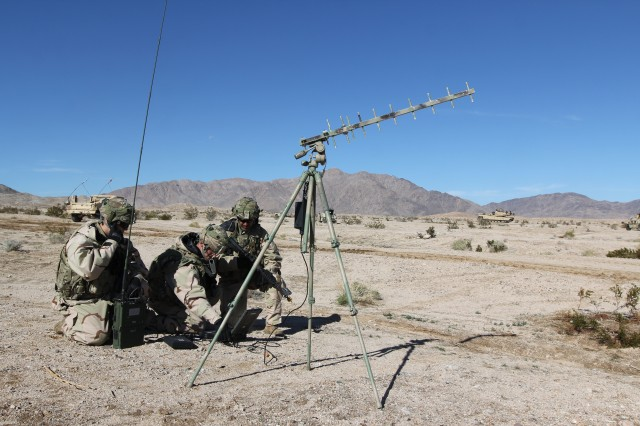 Cyber Soldiers at NTC