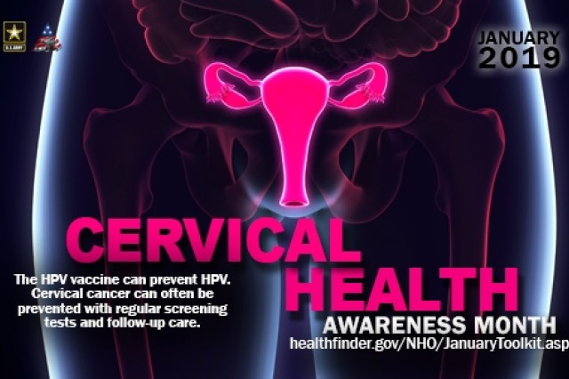 With 79 million Americans currently diagnosed with the Human Papillomavirus, or HPV and 11,000 women diagnosed in the U.S. with cervical cancer, Cervical Health Awareness Month was created to raise awareness about how women can protect themselves with vaccination and appropriate screenings.