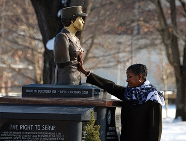 New monument honors all-female, African-American battalion