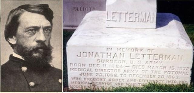 Maj. Jonathan Letterman, Civil War medical innovator