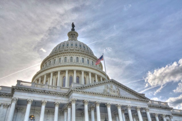 The United States Capitol, Washington, D.C. Taken on June 14, 2009.