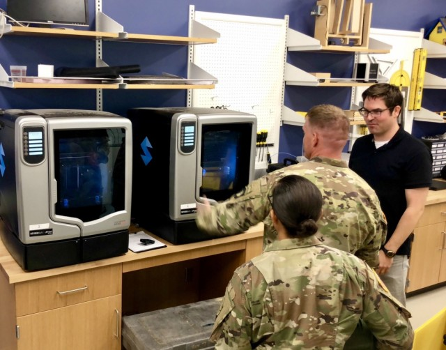 Soldiers team with university to leverage 3D printing technology