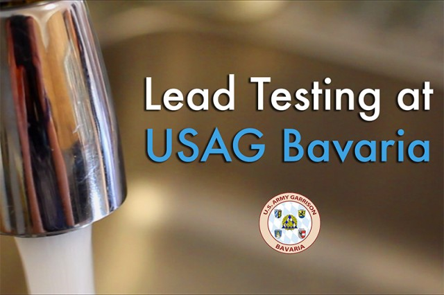 Lead testing at USAG Bavaria