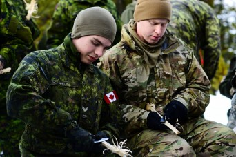 Soldiers learn arctic survival from northern neighbors