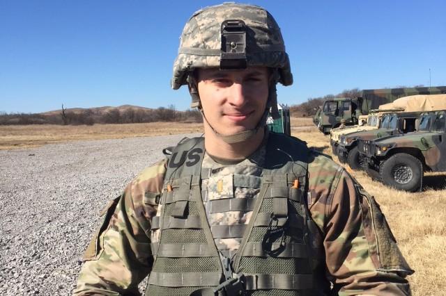 2nd Lt. Matthew Caswell