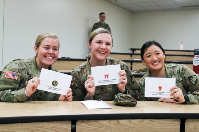 Have We Finally Entered Post >> Usma Class Of 2019 Cadets Select Their First Duty Stations At Post