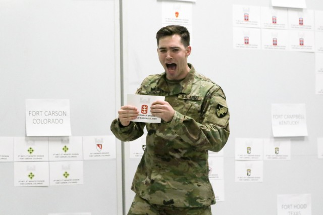 The U.S. Military Class of 2019 had its Post Night, Feb. 6, 2019.  During Post Night, cadets select their U.S. Army posts they will report to upon commissioning. (U.S. Army Photos by Brandon O'Connor)