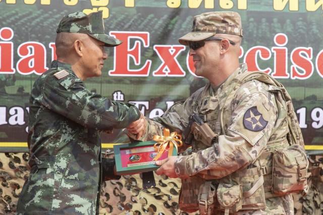 U S  and Thai armies complete exercise Hanuman Guardian 19