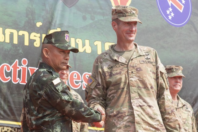 U.S. and Thai armies complete exercise Hanuman Guardian 19